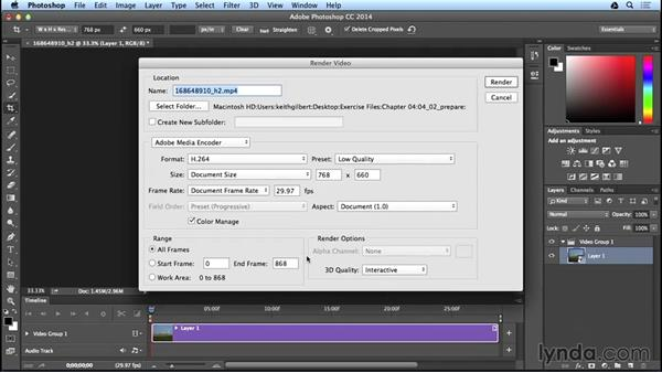 Preparing video: Adobe Digital Publishing Suite Interactive Techniques