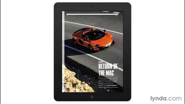 Real-world examples: Adobe Digital Publishing Suite Interactive Techniques
