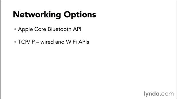 Networking options: Programming the Internet of Things with iOS