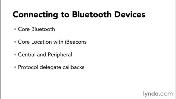 Connecting using Core Bluetooth: Programming the Internet of Things with iOS
