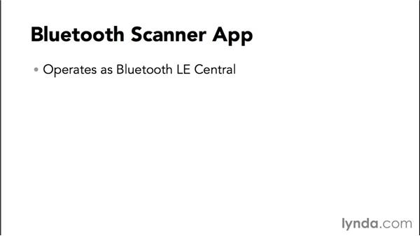 Introducing the Bluetooth scanner app: Programming the Internet of Things with iOS