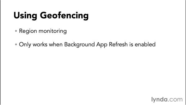 Using geofencing: Programming the Internet of Things with iOS