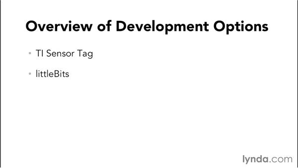Overview of development options: Programming the Internet of Things with iOS