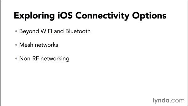 Exploring iOS connectivity options: Programming the Internet of Things with iOS