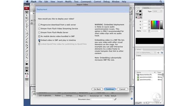 Using video in Flash with an alpha channel: Flash CS3 Interactive Video Techniques