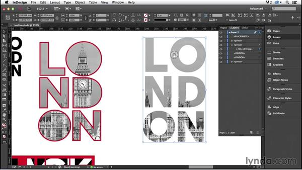 Working with type outlines (CC 2014.1): InDesign Typography (2012)