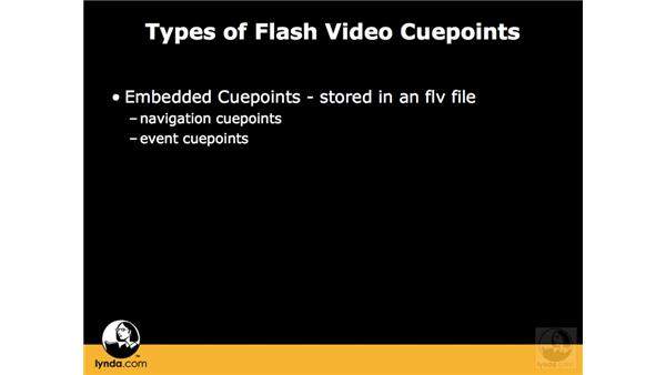 Embedded vs. ActionScript cue points: Flash CS3 Interactive Video Techniques