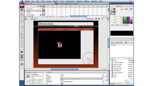 Working with Navigation cue points: Flash CS3 Interactive Video Techniques