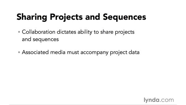 Introduction to sharing projects and sequences: Video Post Tips Weekly
