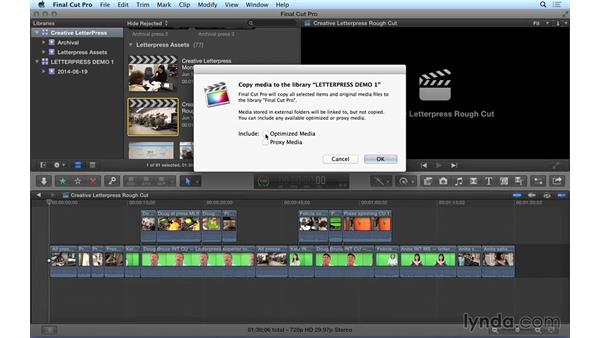 Sharing projects and sequences in Final Cut Pro X: Video Post Tips Weekly