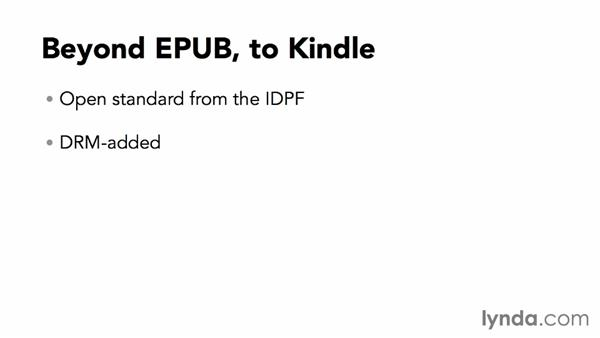 Beyond EPUB, to Kindle: Creating EPUBs from a Word Document