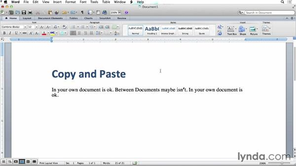 Copy and Paste: Creating EPUBs from a Word Document