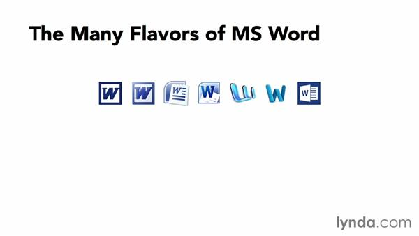 Which flavor of Word?: Creating EPUBs from a Word Document
