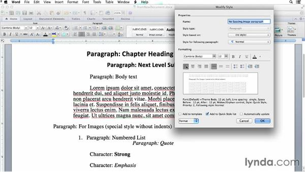 Starting with a new document: Creating EPUBs from a Word Document