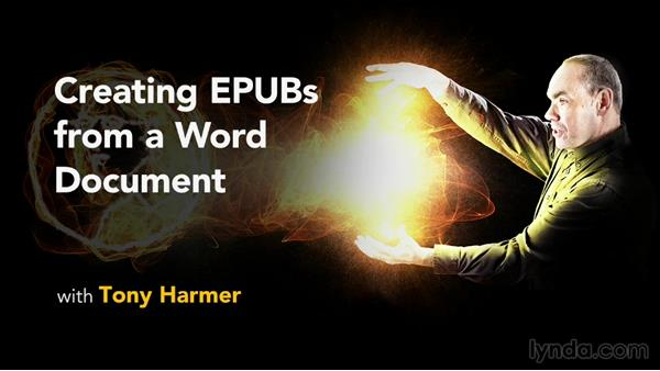 Goodbye: Creating EPUBs from a Word Document