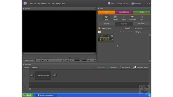 The basic Premiere Elements workflow: Premiere Elements 4 Essential Training
