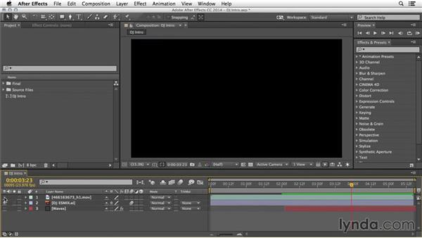 Preserving transparency: After Effects Tips and Techniques: Compositing and Effects