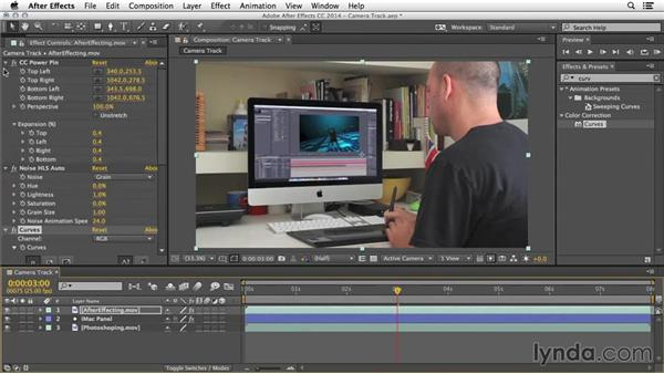 Fake camera track: After Effects Tips and Techniques: Compositing and Effects