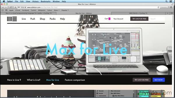 What is Max for Live?: Up and Running with Max for Live