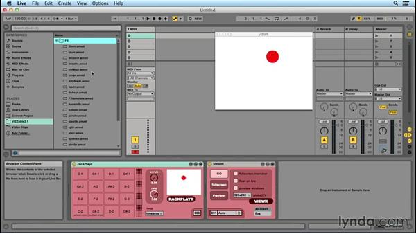 VJing in Ableton Live: Up and Running with Max for Live