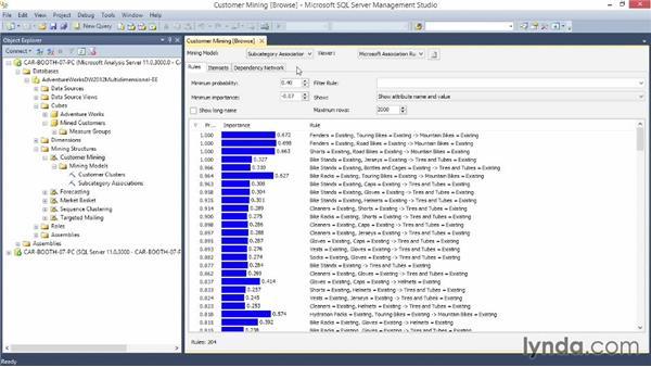 Understanding mining models: Excel Data-Mining Fundamentals