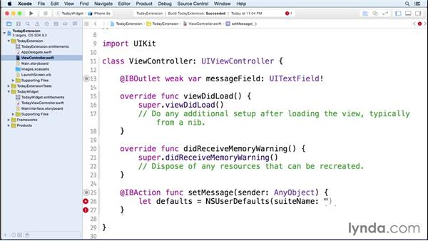 Creating a Today widget: iOS 8 SDK New Features