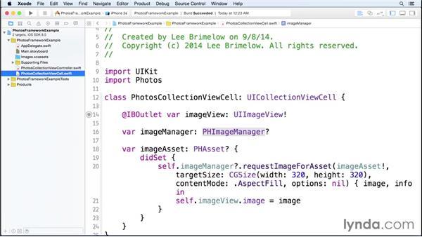 Using the Photos framework: iOS 8 SDK New Features