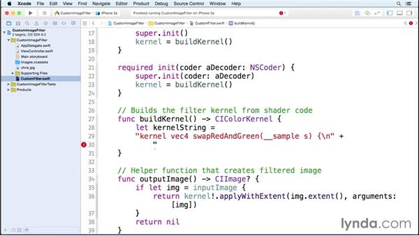 Custom Core Image filters: iOS 8 SDK New Features