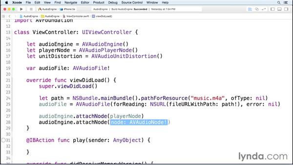 Adding audio enhancements: iOS 8 SDK New Features