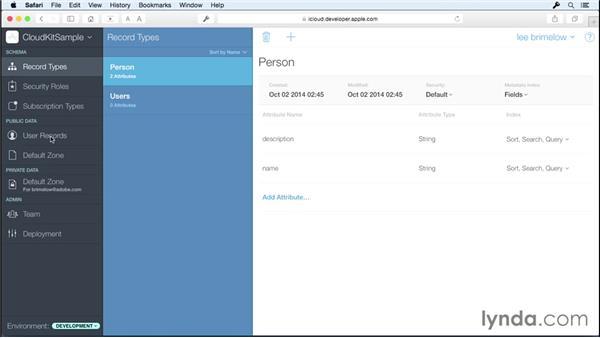 Using CloudKit: iOS 8 SDK New Features