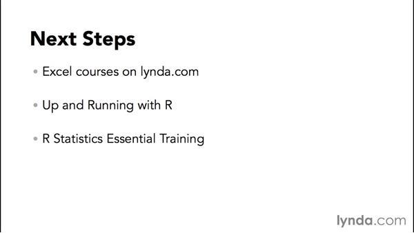 Next steps: SPSS Statistics Essential Training