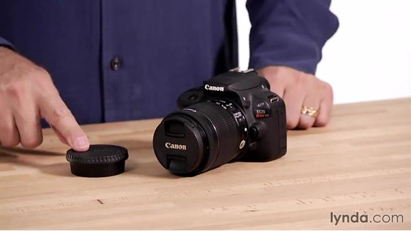 Getting ready to shoot: Up and Running with the Canon Rebel SL1 (100D and Kiss X7)