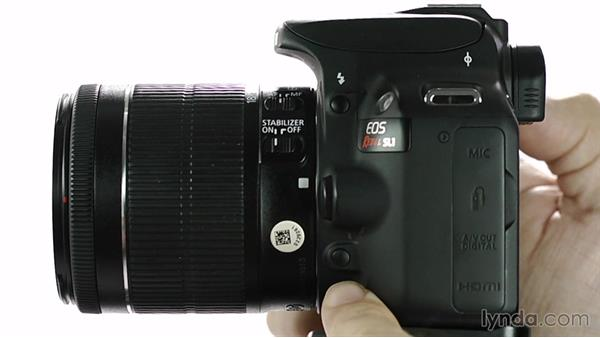 Aperture Priority mode: Up and Running with the Canon Rebel SL1 (100D and Kiss X7)