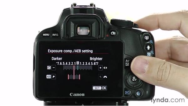 Auto exposure bracketing: Up and Running with the Canon Rebel SL1 (100D and Kiss X7)