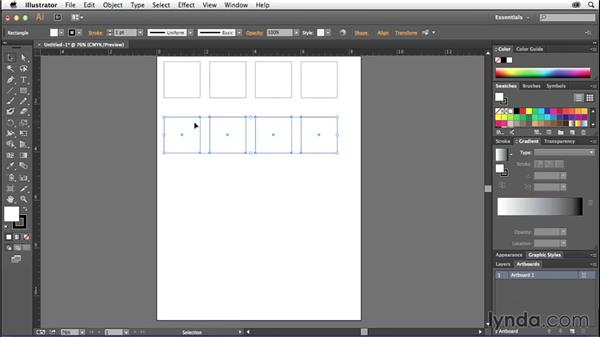 Creating a thumbnail sketch template in Illustrator: Creative Quick Tips