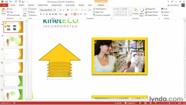 Merging shapes to create a custom shape: PowerPoint 2013 Power Shortcuts