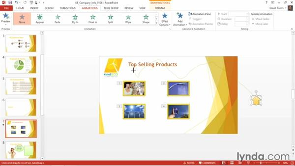 Creating a custom animation: PowerPoint 2013 Power Shortcuts