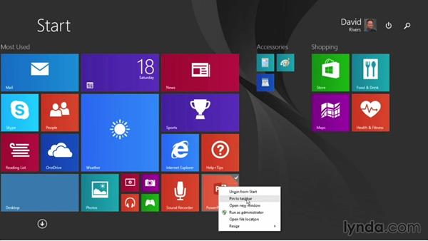Accessing recent files quickly: PowerPoint 2013 Power Shortcuts
