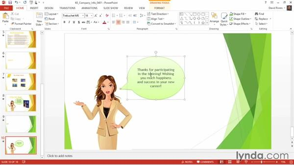 Selecting Ribbon commands with KeyTips: PowerPoint 2013 Power Shortcuts
