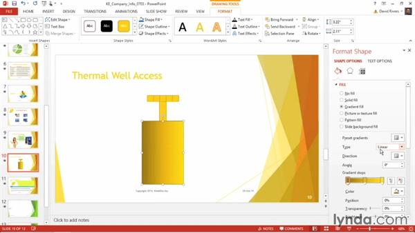 Creating the perfect gradient: PowerPoint 2013 Power Shortcuts