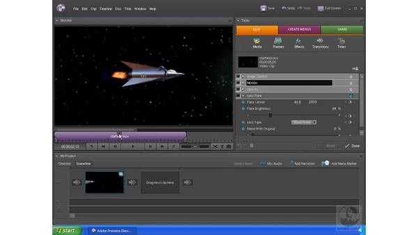 Animating effects: Premiere Elements 4 Essential Training