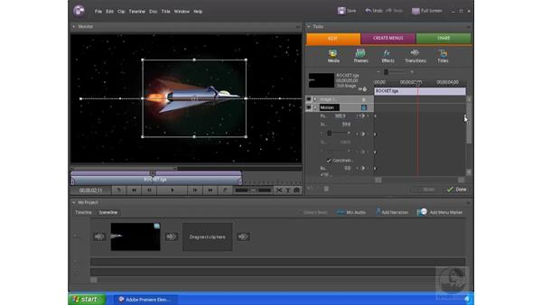Fine-tuning animations: Premiere Elements 4 Essential Training