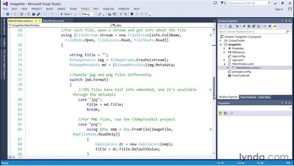 Retrieving image data from JPG and PNG files: Code Clinic: C#