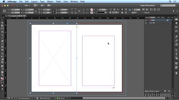Using layers: Creating Long Documents with InDesign CC