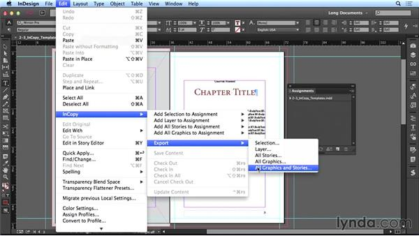 Using InCopy: Creating Long Documents with InDesign CC