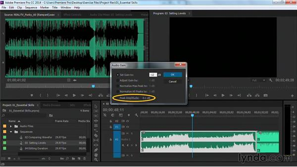 Prepping your music bed: Premiere Pro Guru: Cutting with Music