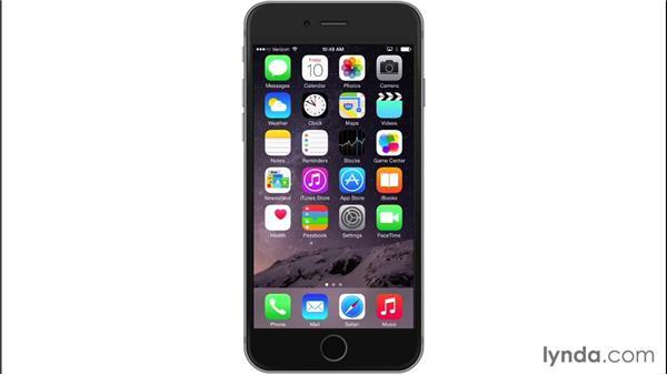 Blocking numbers: iOS 8: iPhone and iPad Essential Training