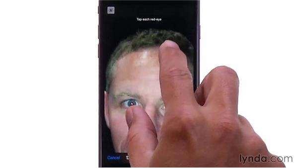 Editing photos: iOS 8: iPhone and iPad Essential Training