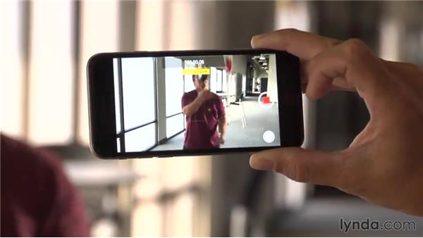 Shooting video: iOS 8: iPhone and iPad Essential Training