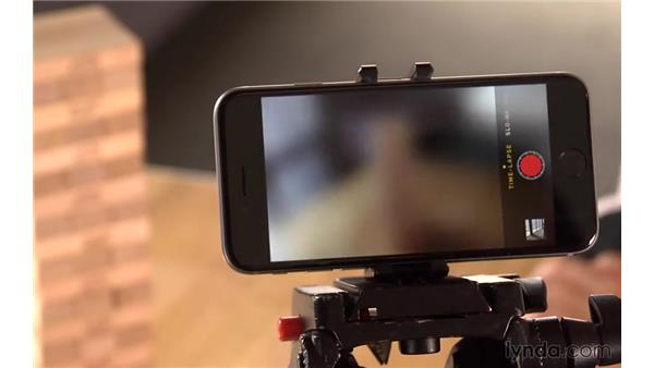 Shooting time-lapse videos: iOS 8: iPhone and iPad Essential Training
